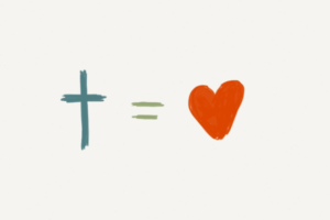 Jesus plus love equals