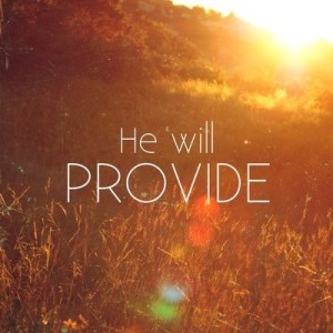 He will provide