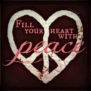 fill your heart with peace