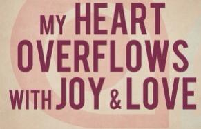 my heart overflows blog