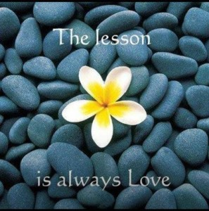 the lesson is always love blog