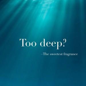 too deep blog