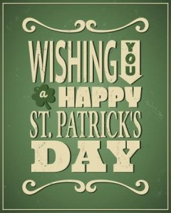 wishing you a happy st. patricks day