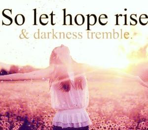 so let hope rise
