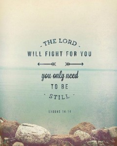 the lord will fight for you blog