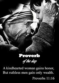 a kind hearted woman