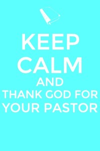 thank god for your pastor