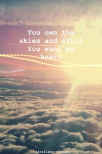 you own the skies
