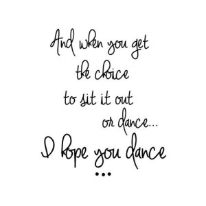 always dance