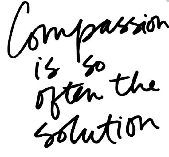compassion is often the answer