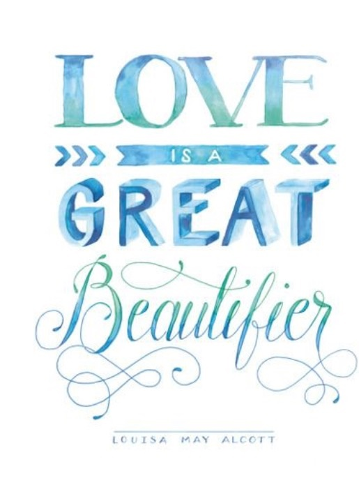 love is a great beautifuer