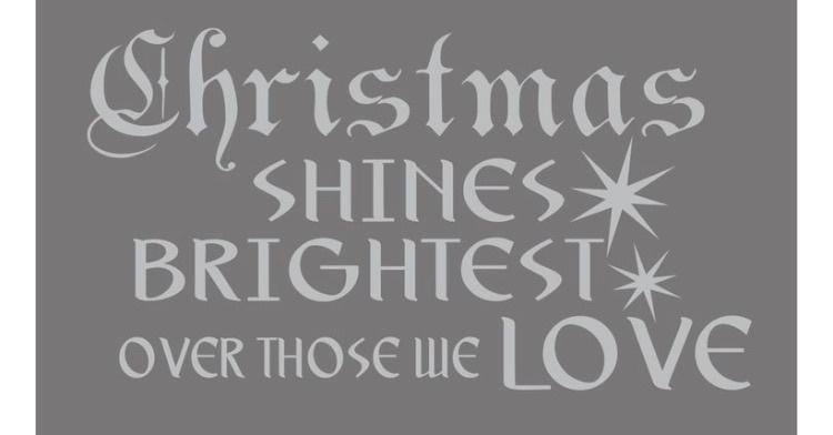 Christmas shines bright