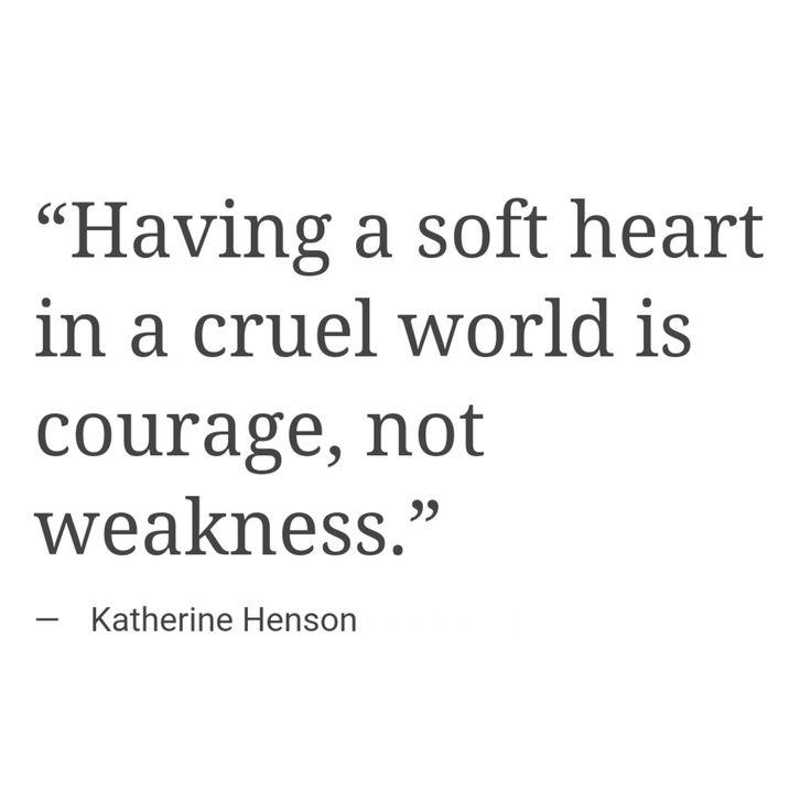 a soft heart